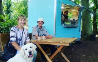 Fairhaven Woodland and Water Garden, August Teastop by the Staithe
