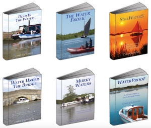 Win the series of 6 Broadland Whodunit books by Chris Crowther