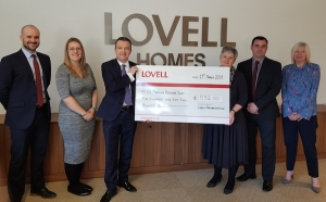 Lovell launches year of fundraising for Norwich homelessness charity