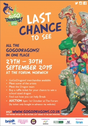 Last chance to see GoGoDragons!