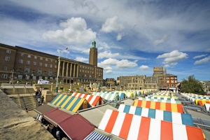 Pop-ups arrive on Norwich Market