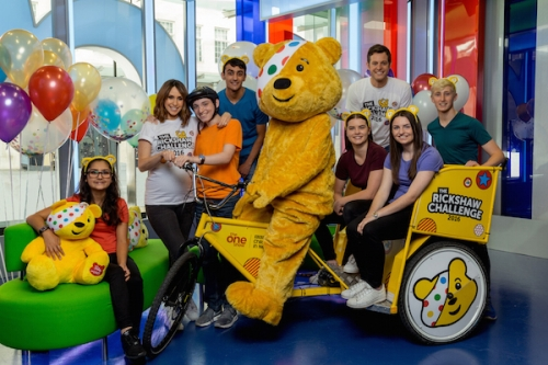 The One Show's Rickshaw Challenge comes to King's Lynn!