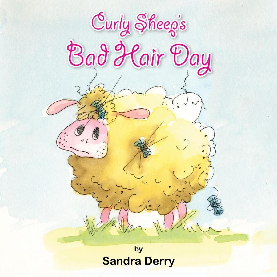 Curly Sheep's Bad Hair Day