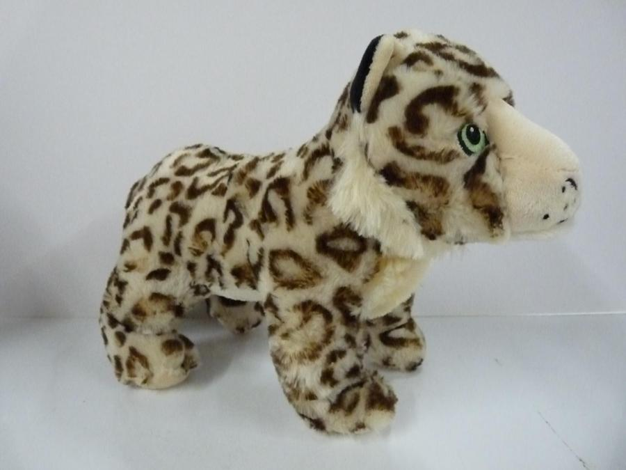 Fido's Pet Bazaar Sally Snow Leopard - Small