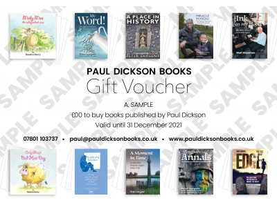 £10 Paul Dickson Books Gift Voucher
