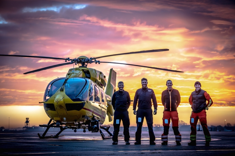 East Anglian Air Ambulance launch campaign to become a 24/7 service