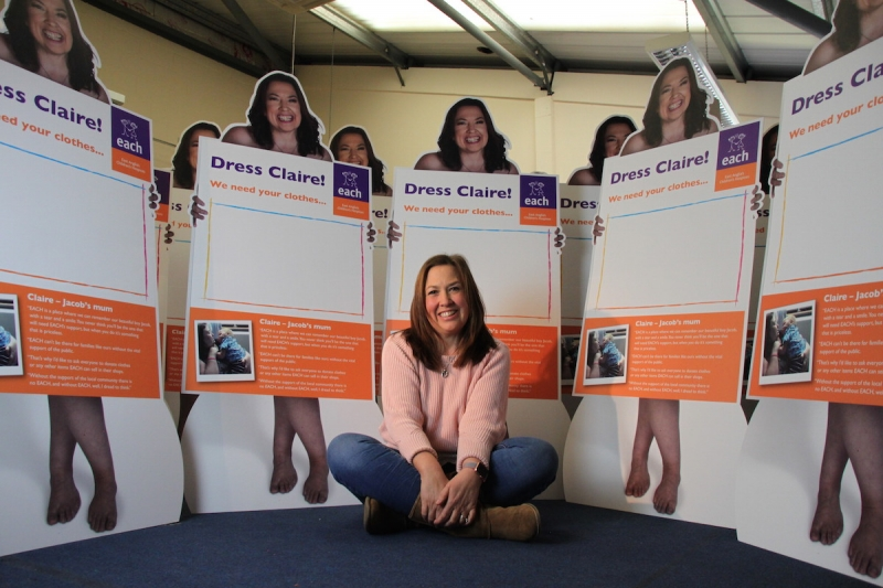 Donations to EACH shops soar during Dress Claire campaign