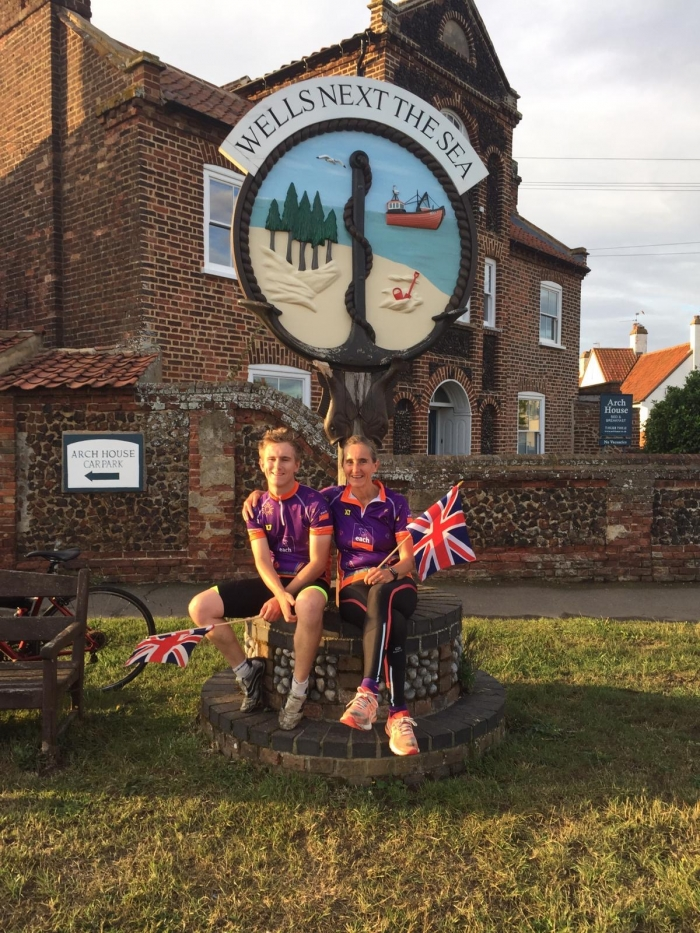 Mother and son race near 1000 miles to raise thousands for children's hospices