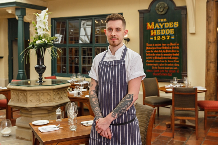 Maids Head Hotel Sous Chef in Norfolk Chef of the Year Final