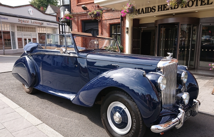 Maids Head Hotel Norwich Acquires Rare 1950 Bentley Mark 6