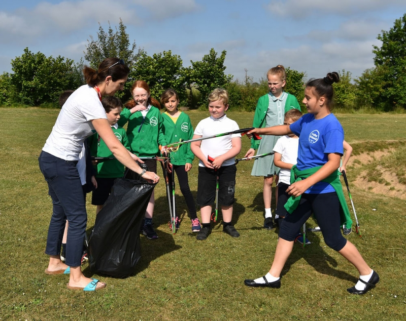 NNDC is helping Colby Primary School to go for eco gold