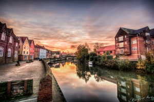 Norfolk - A Photographer's Guide by Joe Lenton - By the River Wensum in Norwich