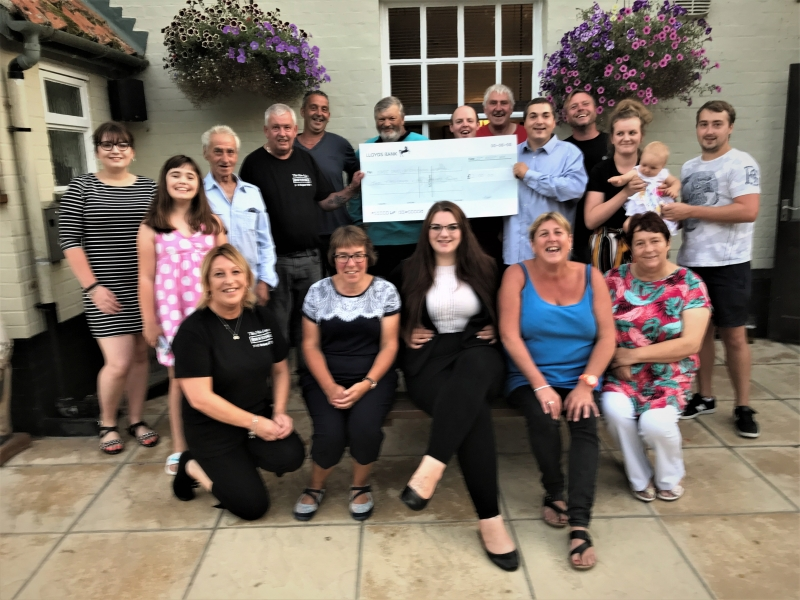 Rockland St Mary residents raise over £2,000 for the nook appeal