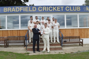 Bradfield Cricket Club opens new clubhouse with 'Big Society' help