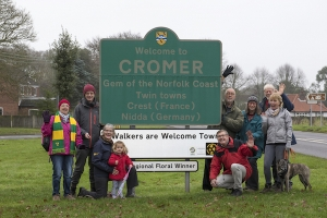 Walkers are Welcome: 2018 national annual get together in Cromer