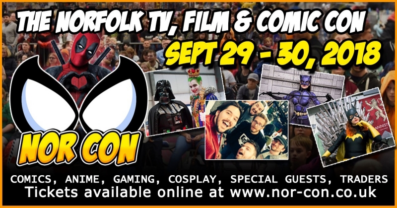 Win a pair of tickets to NOR-CON 2018