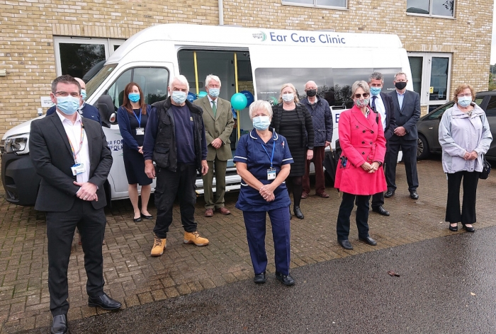Norfolk Deaf Association Launches New Mobile Aural Care Clinic