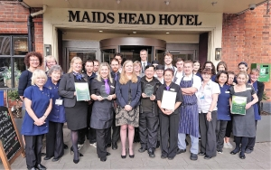 Maids Head Hotel Two Wins at Norfolk & Suffolk Tourism Awards