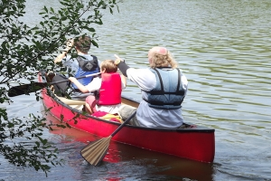 New Guided Canoe Trail at Fairhaven Garden