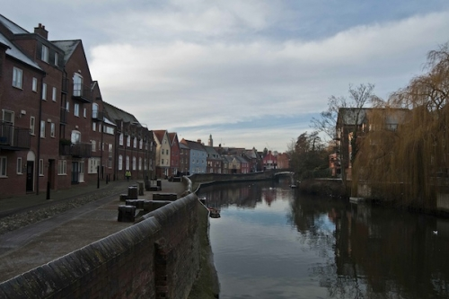 And Quiet flows the Wensum