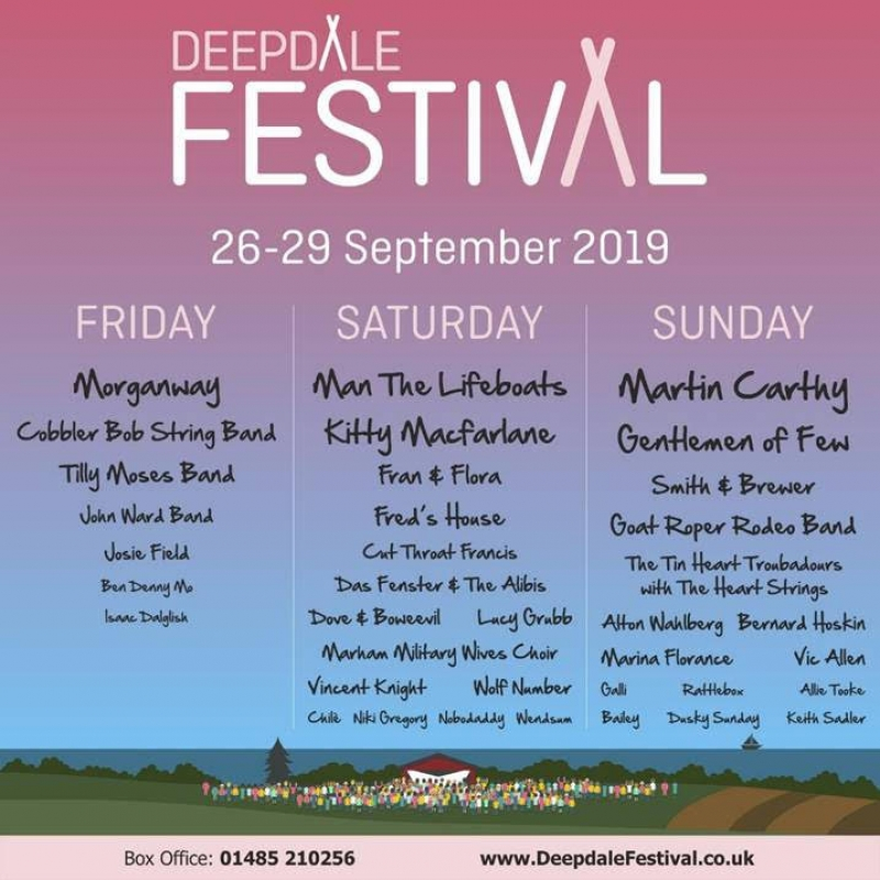 Win a pair of Weekend Tickets to Deepdale Festival